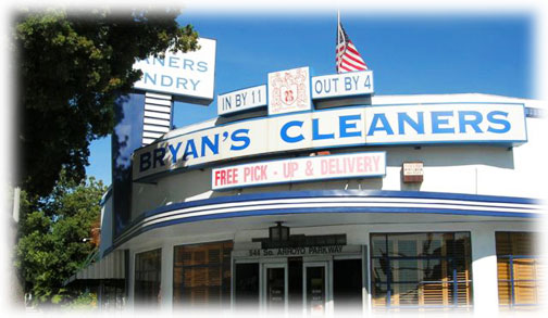 Bryan's Cleaners Main Location