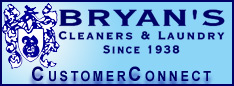 Bryan's Cleaners Customer Connect Portal