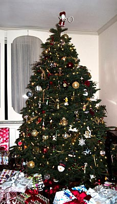 Cleaning Christmas Tree Skirts - Image courtesy of Maggie Smith at FreeDigitalPhotos.net