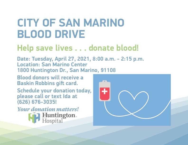 San Marino Blood Drive
